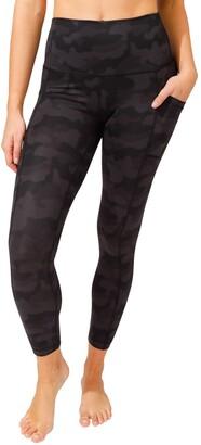 90 Degree By Reflex Wonderflex Elastic Free High Waist Side Pocket Ankle Leggings