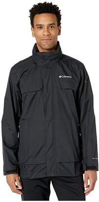 Columbia Tryon Trailtm Shell (Black) Men's Clothing