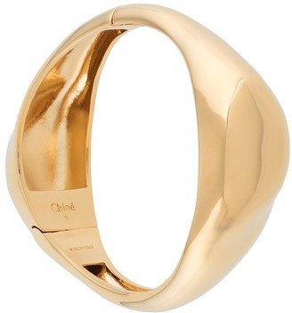 Chloé Sculpted Cuff Bracelet