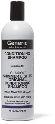 Clairol Generic Value Products Conditioning Shampoo Compare to Shimmer Lights