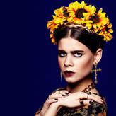 FRIDA ROCK 'N ROSE Oversize Sunflower Crown Headband