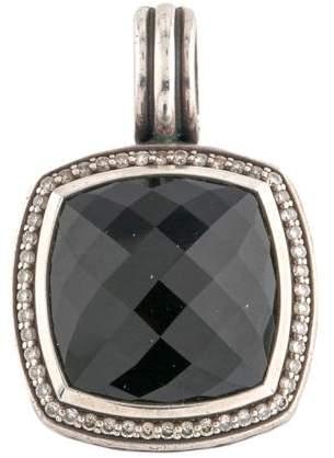 David Yurman Onyx & Diamond Albion Pendant