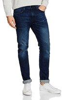 Tom Tailor Men's CULVER skinny dark blue denim Jeans, Blue (dark stone wash denim)