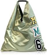 MM6 MAISON MARGIELA Mm6 Maison Martin Margiela Sage Green Nylon Japanese Tote Bag