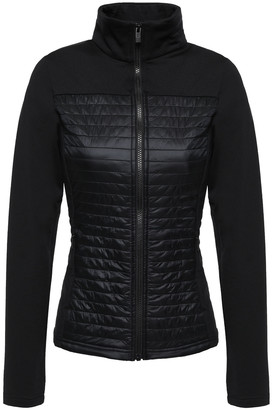 Fusalp Jersey-paneled Quilted Shell Jacket
