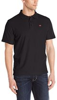 English Laundry Men's Short Sleeve Supima Cotton Pique Polo