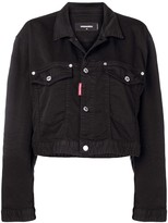 DSQUARED2 crop denim jacket