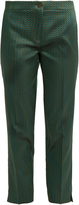 Etro Chevron-jacquard straight-leg trousers