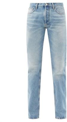 ATTICO Mid-rise Straight-leg Jeans - Denim