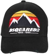 DSQUARED2 Mountains Patch Canvas Baseball Hat