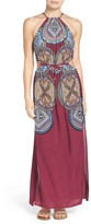 Red Carter Cover-Up Maxi Dress