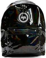 Hype Metallic Black Backpack*