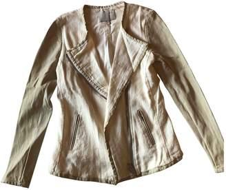 IRO \N Ecru Leather Jackets