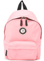 Versus lion head backpack - women - Nylon - One Size