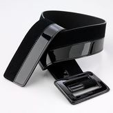 Apt. 9® Faux-Patent-Leather Slider Belt