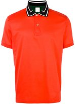 Paul Smith contrasting collar polo shirt