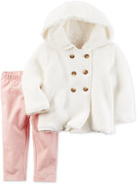 Carter's 2-Pc. Faux-Fur-Lined Sweater & Leggings Set, Baby Girls (0-24 months)