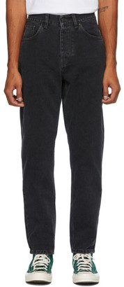 Carhartt Work In Progress Black Newel Jeans