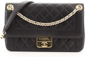 Chanel Beauty Lock Flap Bag Quilted Sheepskin Medium
