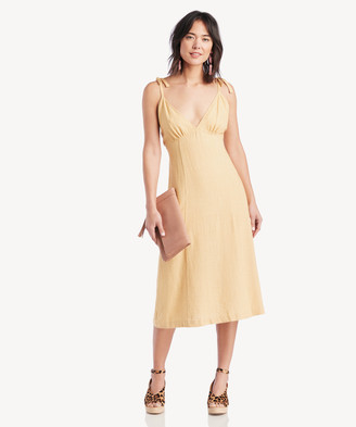 Sole Society The Good Jane Women's Tuscany Eli Dress Yellow Size XS From