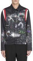 Lanvin Printed Cotton Bomber Jacket