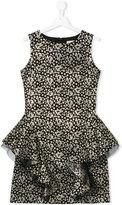 David Charles Kids - floral dress - kids - Cotton/Polyester/Acetate/Metallic Fibre - 14 yrs