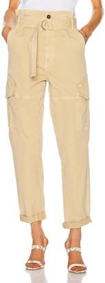 Frame Safari Belted Pant in Cargo | FWRD