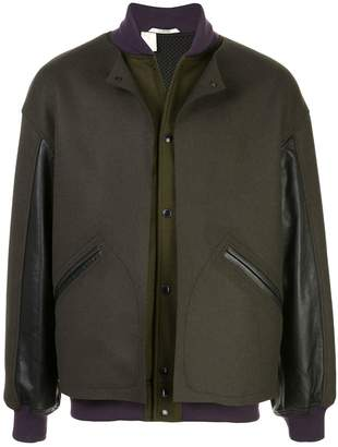 N. Hoolywood snap-button bomber jacket