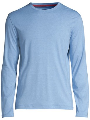 Isaia Cotton Crewneck Pullover