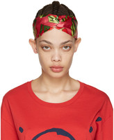 Gucci Pink Logo Cube Headband