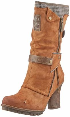 Mustang 1141-606 Womens Classic Mid Calf Boot 301 chestnut 8 UK (42 EU)