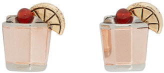 Paul Smith Silver Whiskey Sour Cufflinks