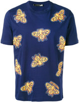 Love Moschino all-over insect print T-shirt - men - Cotton - S