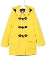 MSGM classic duffle coat - kids - Polyamide/Polyester/Virgin Wool - 10 yrs