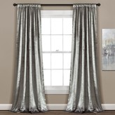 "Lush Decor 2-pack Velvet Dream Window Curtains - 40"" x 84"""