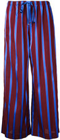 ASTRAET striped wide leg trousers - women - Acetate - 0