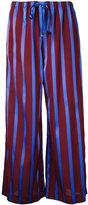 ASTRAET striped wide leg trousers - women - Acetate - 1