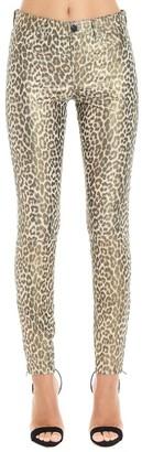J Brand Leopard Print Trousers