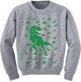 TeeStars - Holiday Dinosaur Chaos Ugly Christmas Youth Kids Sweatshirt