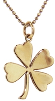 Jennifer Meyer Four-Leaf Clover Necklace - Rose Gold