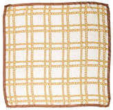 Dolce & Gabbana Chain Print Silk Scarf w/ Tags