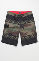 "Vans Mixed Scallop Camouflage 20"" Boardshorts"