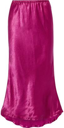 Sies Marjan Xael Satin Midi Skirt