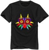 NC2FC Legend Of Zelda Majora Mask Short Sleeve T Shirt For Men XXL Designer T Shirts