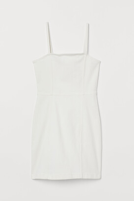 H&M Cotton bodycon dress