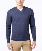 Club Room Men's Knit V-Neck Sweater, Created for Macy's