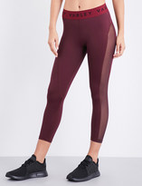 Varley Alden cropped stretch-jersey leggings