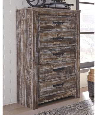 Avalyn 5 Drawer Chest Millwood Pines