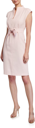 Max Mara Delfina Paisley-Print Crepe Dress