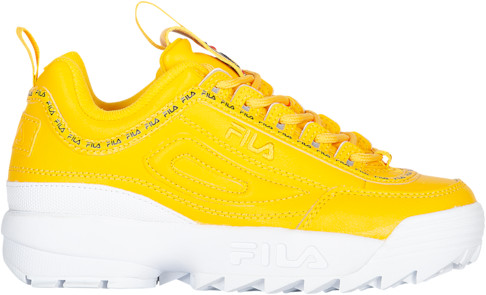 Fila Disruptor II Tennis Shoes - Yellow